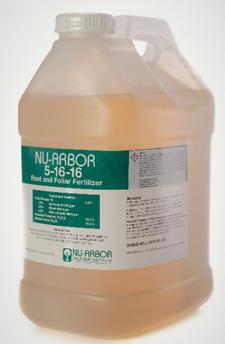 Nu Arbor 5-16-16 Root & Foliar