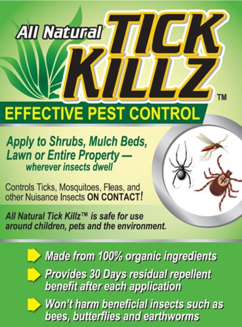Tick Killz Graphic Seed Accelerator